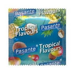 Kondomy Pasante Tropical Flavours 3 ks
